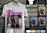 kaos one direction indonesia, one direction indonesia fans t-shirts, kaos one direction, 1D indonesia family, kaos 1D family indonesia