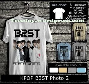 KPOP B2ST Photo, Kaos Beast indonesia Fans, Kaos Korean Pop Beast, Kaos B2ST KPOP Indonesia, Yoon Doo-joon, Jang Hyun-seung, Kaos Beast Lee Gi-kwang, Kaos Beast Son Dong-woon, Kaos Couple KPOP Beast