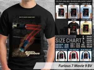 Kaos Fast Furious 7 Movie: Kaos Fast Furious 7 Terbaru, Kaos Fast Furious 7 Paul Walker, Kaos Fast Furious 7 Desain Baru