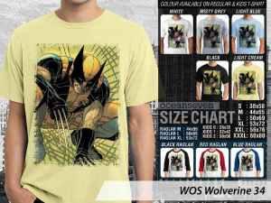 Kaos Anak-anak Wolverine X-Men, Kaos Wolverine Origin, Kaos Wolverine Japan, Kaos Wolverine Logan Character, Kaos Marvel Comics Wolverine X-Men