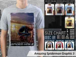 Kaos Anak-anak Amazing Spiderman, Kaos Couple Anak Amazing Spiderman, Kaos Amazing Spiderman Logo, Kaos Couple Family Amazing Spiderman Terbaru