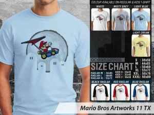 Kaos Game Klasik Mario, Kaos Game Super Mario, Kaos Game Mario Luigi, Kaos Game Mario Bros Couple