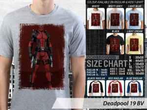 Kaos Marvel Comics Deadpool, Kaos Deadpool Anti Hero, Kaos Deadpool X-Men, Kaos Deadpool Team X, Kaos Deadpool Wade Wilson