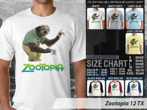 Kaos Film Anime Zootopia, Kaos Film Zootopia Zootropolis, Kaos Film Zootopia Judy Hopps, Kaos Film Zootopia Chief Bogo, Kaos Film Zootopia Anak-anak