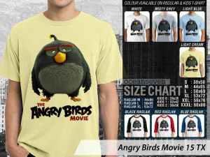 Kaos Game Angry Birds Anak-anak, Kaos Angry Birds Ukuran Anak-anak, Kaos Film Angry Birds, Kaos Film Angry Birds Terbaru, Kaos Film Angry Birds