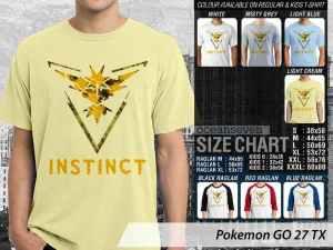 Kaos Game Pokemon Go Nintendo, Kaos Pokemon Go Family, Kaos Pokemon Go Pokestop, Kaos Pokemon Go Anak-anak, Kaos Pokemon Go Indonesia Community